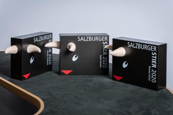 Gewinner des Salzburger Stier 2020 Renato Kaiser 2020  Copyright: SRF/Oscar Alessio